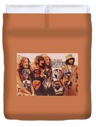 Led Zeppelin Art Duvet Cover