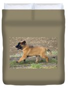 Leonberger Puppy Duvet Cover