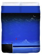 Letting Go Duvet Cover by Chris Mackie