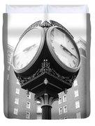 Liberty Mutual Clock Duvet Cover