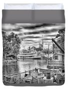 Liberty Square Riverboat Duvet Cover