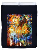 Lights In The Night Duvet Cover