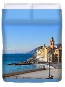 Liguria . Camogli Duvet Cover