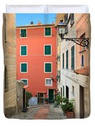 Liguria - Sori Duvet Cover