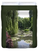 Lily Pond - Monets Garden Duvet Cover
