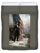 Lincoln Independence Hall Duvet Cover