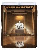 Washington Dc - Lincoln Memorial Duvet Cover