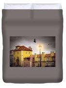 Lisbon Houses Duvet Cover