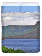 Long Range Mountains In Western Nl Duvet Cover