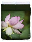 Lotus Dance Duvet Cover