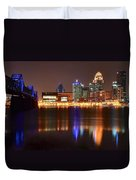 Louisville Kentucky Duvet Cover