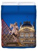 Louvre Twilight Duvet Cover