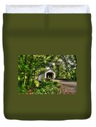 Loux Covered Bridge Duvet Cover