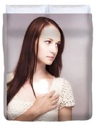 Love And Loss Duvet Cover
