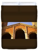 Low Angle View Of Royce Hall Duvet Cover