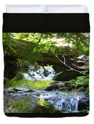 Lower Granite Falls 1 Duvet Cover