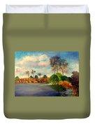 Loxahatchee Nature Preserve Duvet Cover