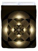 Luminous Mandala Duvet Cover