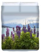 Lupin Blooms Duvet Cover