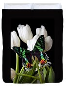 Madagascar Butterfly Duvet Cover