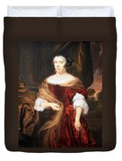 Mae's Portrait Of A Lady Duvet Cover
