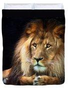 Magnificent Lion Duvet Cover