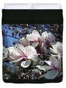 Magnolia  Twig Duvet Cover