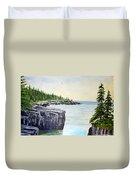 Maine Coast Duvet Cover