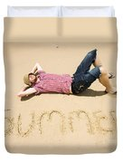 Man Of Summer Duvet Cover