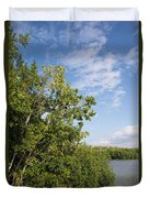 Mangrove Forest Duvet Cover by Carol Ailles