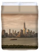 Manhattan Sunrise Duvet Cover