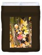 Maple Leaves Duvet Cover