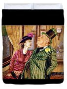 Margaret And W.c. Fields Duvet Cover