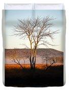 Marsh Tree Reflections Duvet Cover