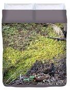 Marshy Duvet Cover