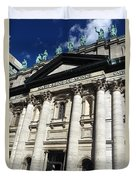 Mary Queen Of The World Cathedral Duvet Cover
