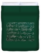 Mathematics Duvet Cover