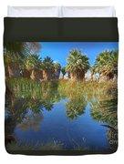 Mccallum Pond - Coachella Valley  Duvet Cover