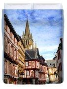 Medieval Vannes France Duvet Cover