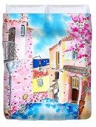 Mediterranean Wind Duvet Cover