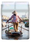 Mekong Delta - Vietnam Duvet Cover