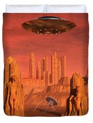 Members Of The Planets Advanced Duvet Cover
