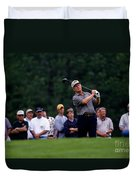 12w334 Jack Nicklaus At The Memorial Tournament Photo Duvet Cover