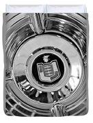 Mercury Wheel Emblem Duvet Cover