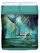 Mermaids Lazy Lagoon Duvet Cover