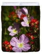 Mexican Primrose  Duvet Cover
