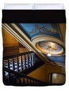 Michigan Capitol Building Duvet Cover