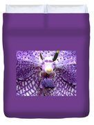 Micro Orchid Duvet Cover