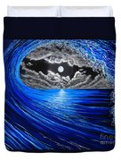 Midnight Bowling  Duvet Cover