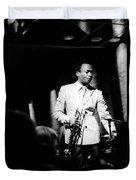 Miles Davis At The Penthouse Duvet Cover